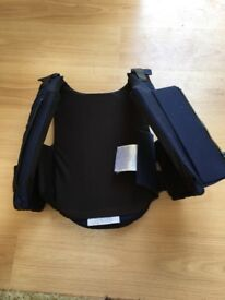 Child's riding body protection
