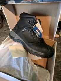 Himalayan steel toe work boots