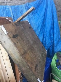 Den Building 'stuff' free for collection from Clevedon