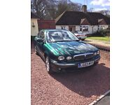Jaguar X Type Green 2.1 V6 Petrol
