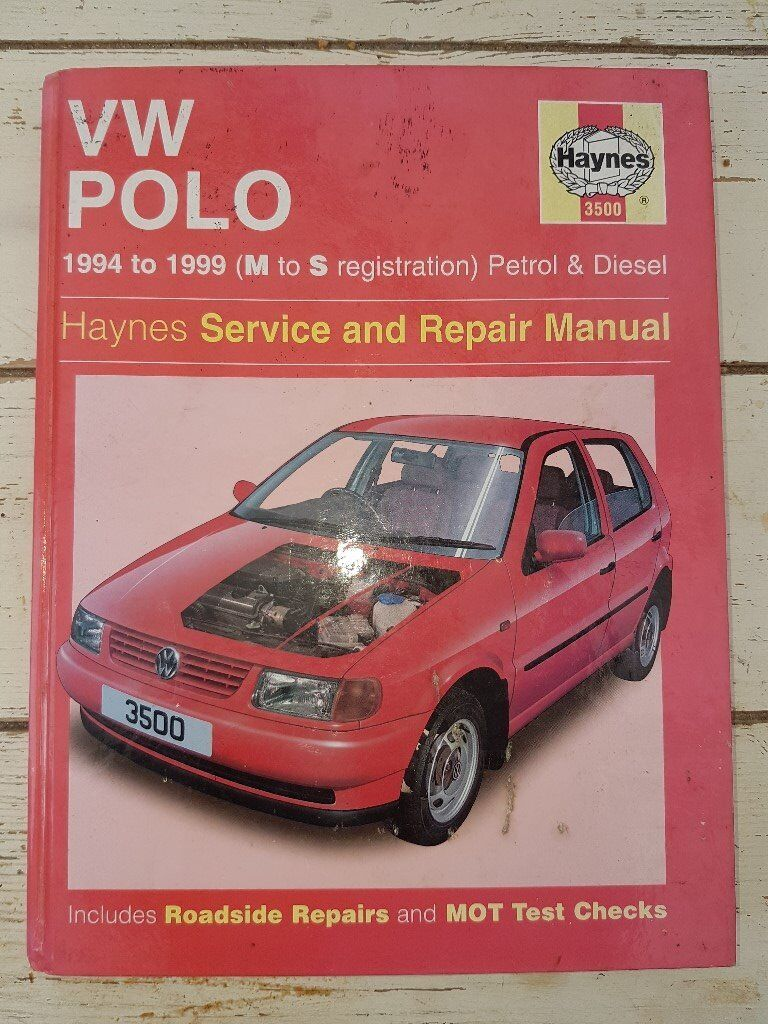 Workshop Manual VW Polo 1994 to 1999