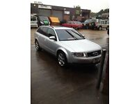 left hand drive audi a4 1.8 turbo 2004 with 67,000 miles left hand drive