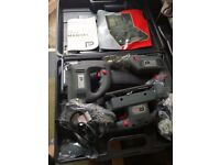 THREE PIECE POWER TOOL SET new in case these are all lead and plugged