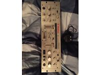 Vestax PMC-25 Professional DJ Mixer built-in DCR-1200 type Isolater EQ Filter