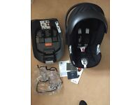 Cybex aton Q car seat & isofix base excellent condition