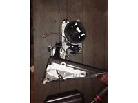 2010-2013 BMW X6 passenger wing mirror with outside camera cable £70