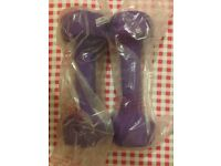 Hand weights dumbbell 3kg x 2