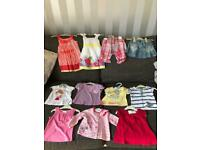 Girls clothes age 3-6 months