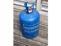 Full Calor gas bottle 15kg Butane with bottle outback cover