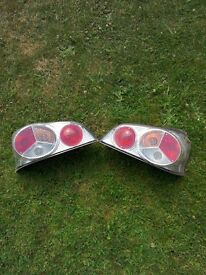 Peugeot 106 clear lense rear lights
