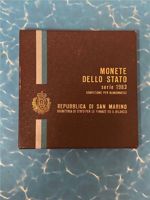 1983 Republic of San Marino Mint Set **FREE SHIPPING**