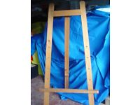 OLD LARGE WOODEN SCHOOL EASEL