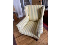 Beautiful compact antique armchair