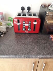 Russell Hobbs, red toaster