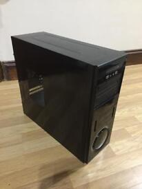 Tower pc case only medium size