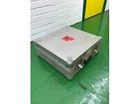 Silver Lightweight Flightcase with Foam Cutouts
