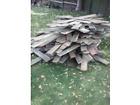 Free firewood or bonfire wood