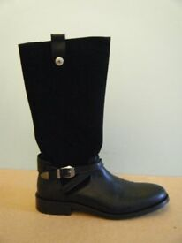 BNWT LEATHER/SUEDE BOOTS