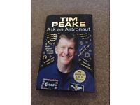 Tim peake as an astronaut book