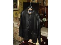 Burberry london Mens leather Jacket