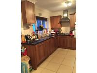 Used kitchen units, sink and cooker hood