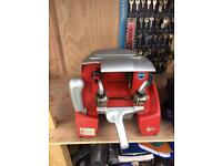 Silca Record cylinder key cutting machine