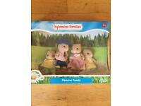 Sylvanian hamster family