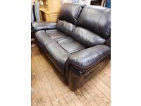 2 seater sofa reclining