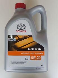 TOYOTA OIL 0W20 PRIUS AURIS CT200