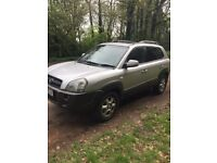 HYUNDAI TUCSON, diesel, 4x4 , automatic , full service history ,