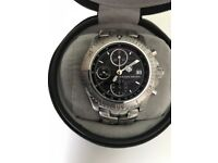 TAG HEUER CT2114 Link Limited Edition Ayrton Senna Automatic Chronograph Watch (2001)