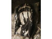 Vib 3in1 navy leatherette pram