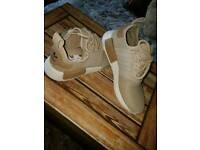 NMD desert beige size 6 brand new never been worn adidas