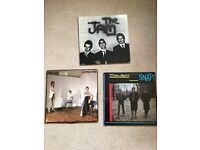 The Jam vinyl LPs In the City, All Mod Cons and Snap! Original pressings