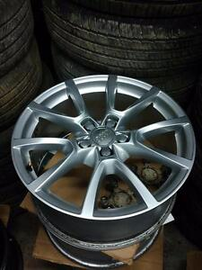 OEM Audi Q5 alloy rims 5 x 112 - $800 set of 4 rims only //// 235 60 18 tires in stock