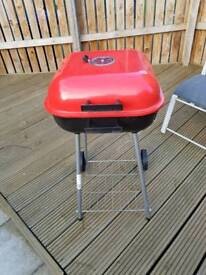 Charcoal Trolley BBQ Garden Grill
