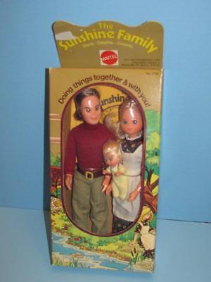 Vintage 1973 Mattel Sunshine Family Steve Stephie Sweets - Original Unopened