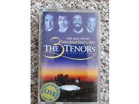 THE 3 TENORS tape cassette - LIVE from Dodger Stadium LA, 16 July 1994