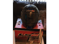 LS2 Motorcycle Helmet in excellent condition, Size Small