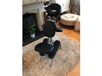 Portalite Advantage portable massage chair - excellent condition