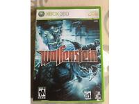 Xbox 360 bundle of 5 Games including 'Walfenstein'