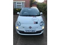 Top Spec Fiat 500 LOUNGE RHD, 6 GEARS with all the extras in great condition.