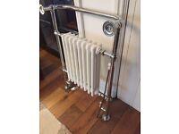 Traditional towel rail radiator