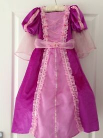 Rapunzel Dress and Cape