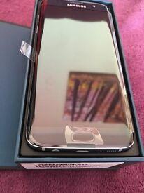 New Samsung Galaxy S7 Edge - Black, Unlocked, 32GB