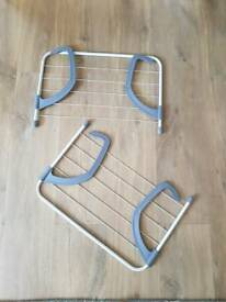 2 x radiator drying racks