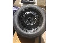 New tyre and rim - suitable for Astra etc
