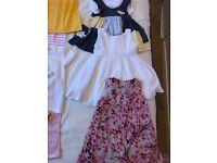 Girls summer clothes 9-12 mths