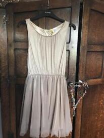 H&M Gold Size 8 Dress