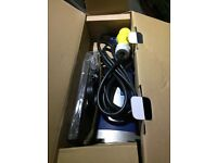 110v 9 inch angle grinder. Not needed. Never used, still boxed and wrapped. £30
